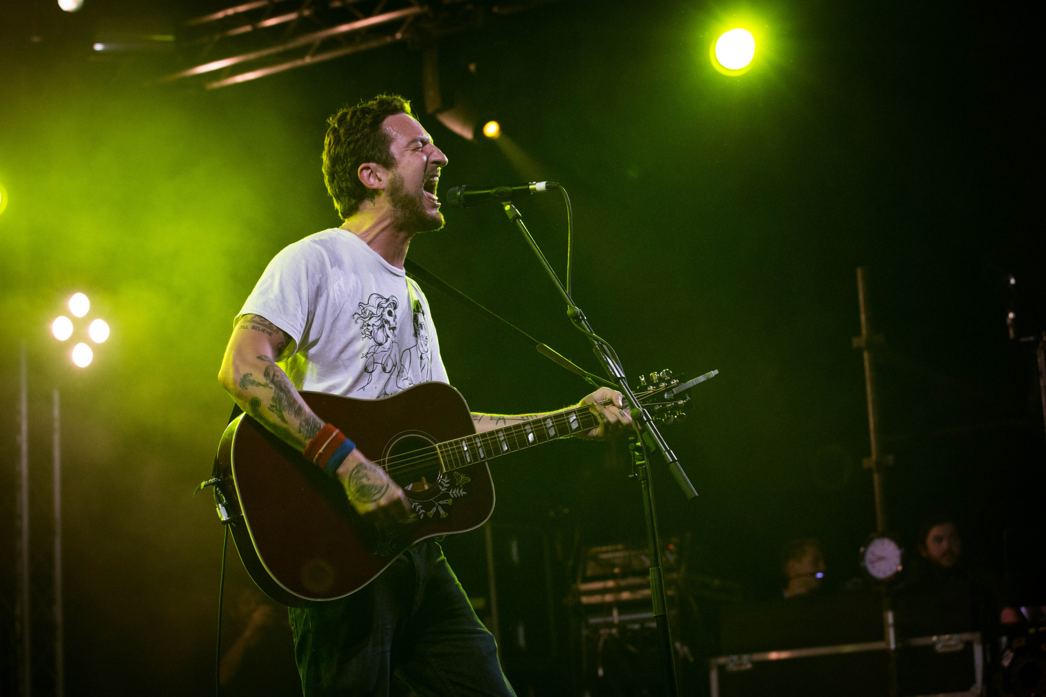 Frank Turner at Reading Festival, Berkshire, Britain - 30 August 2015