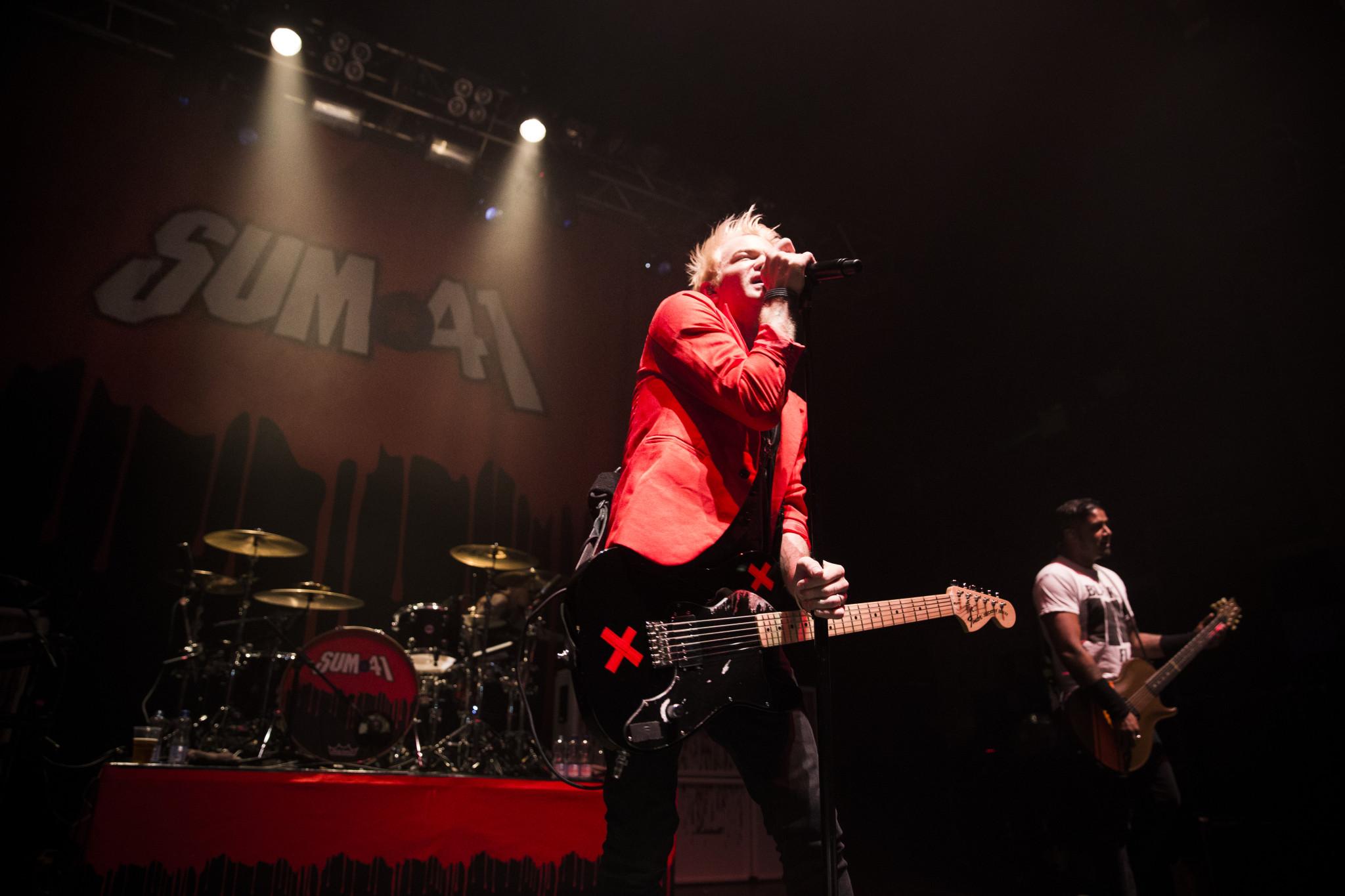 Sum 41 Photos Live in Birmingham 2016