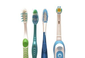 manual and electric toothbrushes