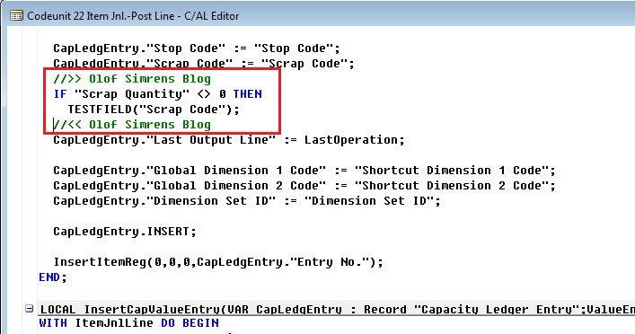 Scrap-Code-Mandatory-Dynamics-NAV