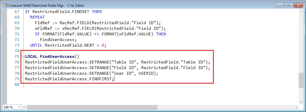 FindUserAccess-Restricted-Fields-Codeunit-Dynamics-NAV-2016