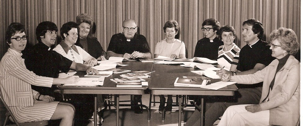 OLOL Parish Staff 1973-1974 Our Lady of Lourdes Milwaukee