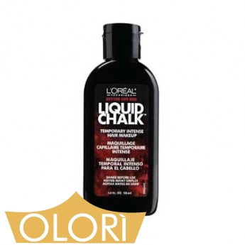 l oreal technique liquid chalk temporary intense hair makeup better off red olori