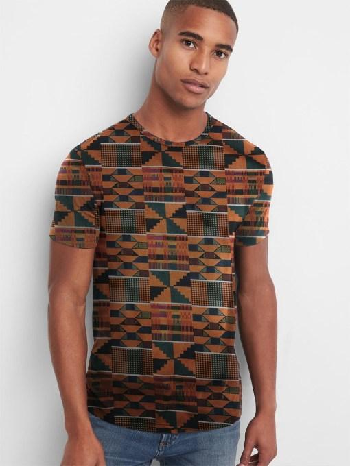 Kente T-shirt African Print