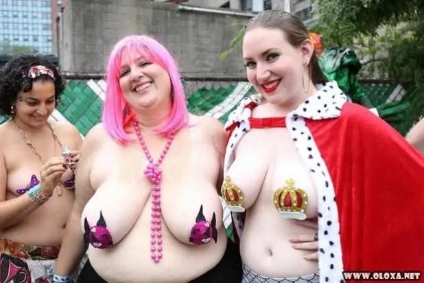 O tradicional desfile de sereias de Nova Yorque