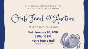 Crab Feed and Auction