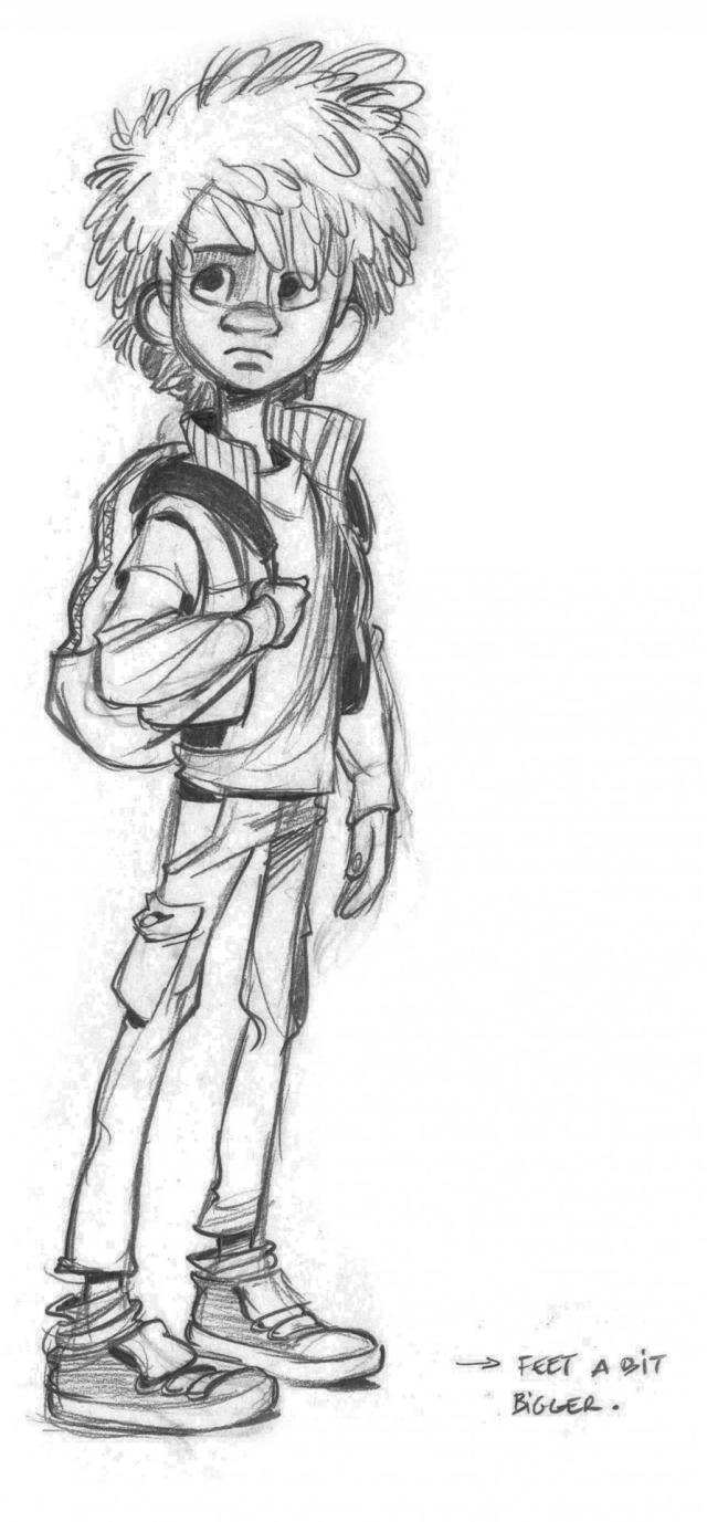 Adam - The Son of Bigfoot Character Design @OlsenCreation 30