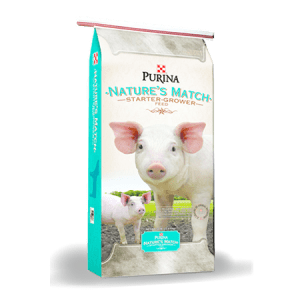 Purina Nature's Match Starter Grower