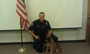 Jax K9 Police Dog and Officer Cory