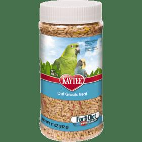 Kaytee Forti-Diet Pro Health Oat Groats Treat for All Pet Birds