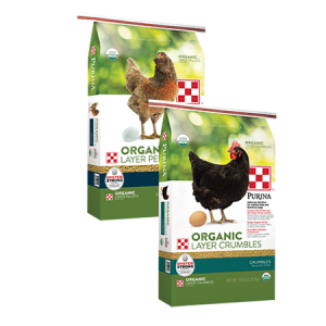 Purina Organic Layer Pellets or Crumbles