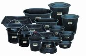 LIVESTOCK BUCKETS AND TUBS