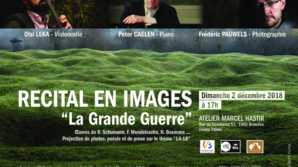 """[Concert] Récital en Images """"1914-18"""""""