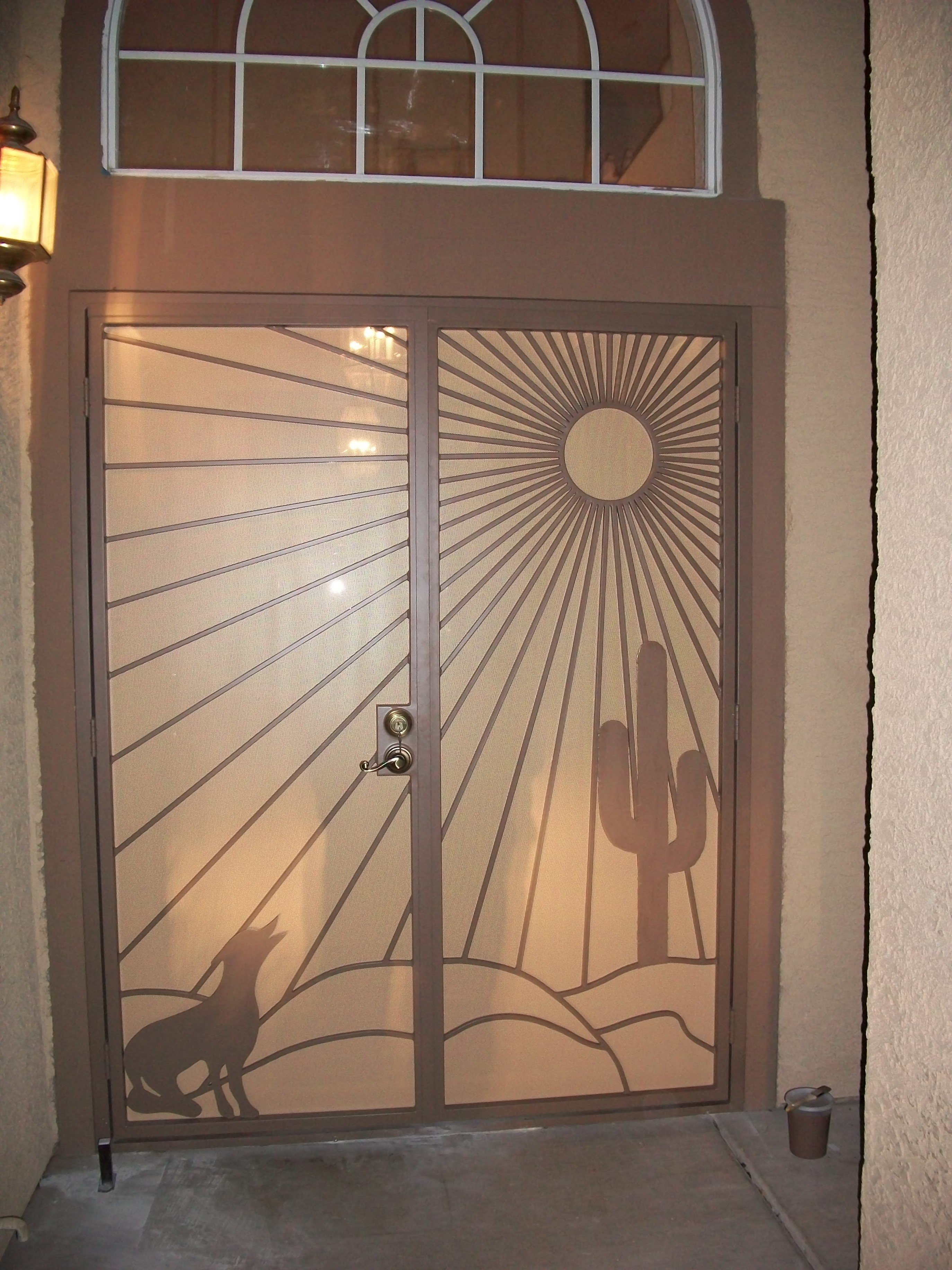Security Doors in Las Vegas  Olson Iron