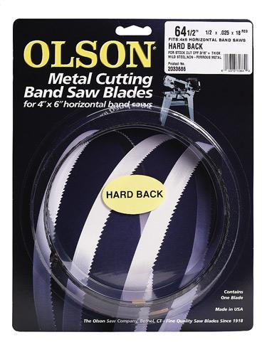 Band Saw Blades Olson Saw