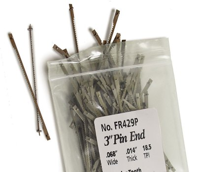 3-in. Pin End Blades 144 per pack