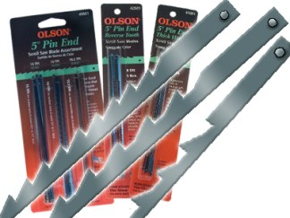 5-in. Pin End Blades Assortment
