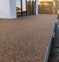 Oltco Resin Bound Gravel Footpaths l Balcony l Cornwall
