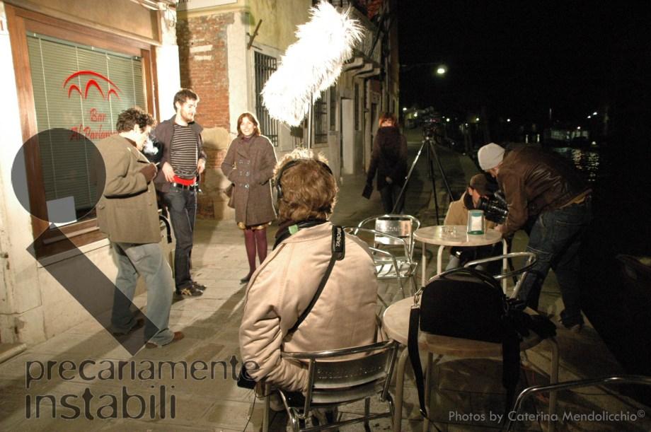Precariamente Instabili - Il set Venezia - Cannareggio