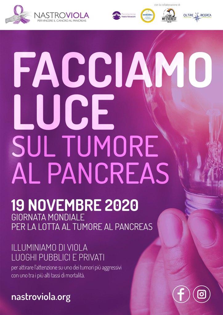 Facciamo Luce sul tumore al pancreas 2020