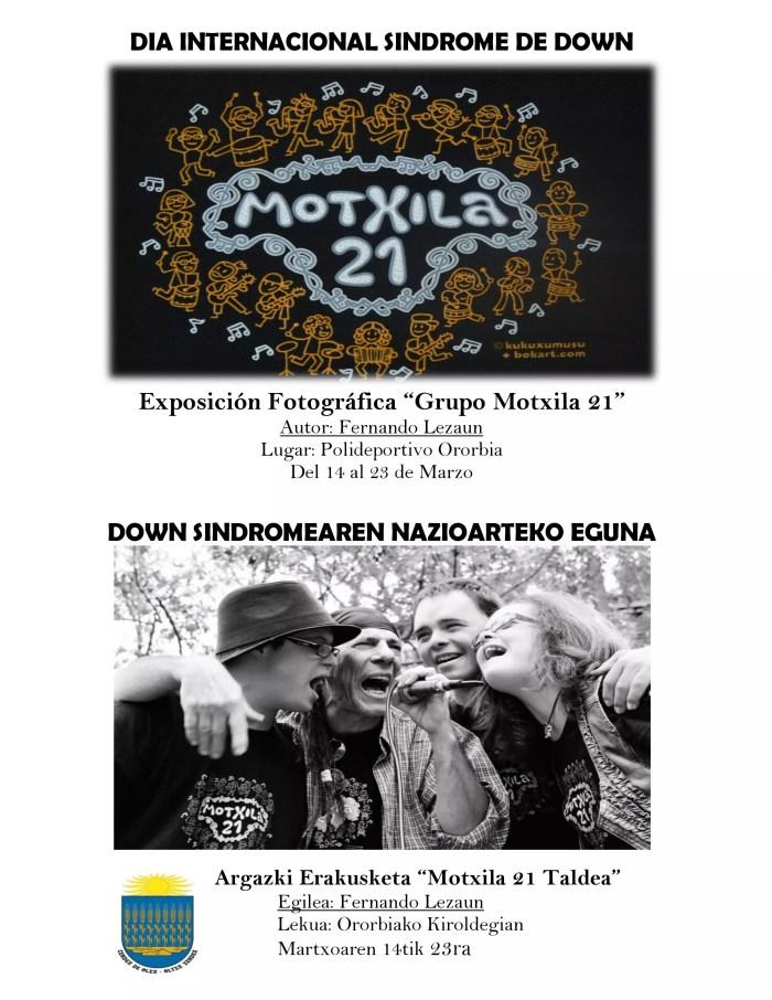 Exposición Síndrome de Down Polideportivo de Ororbia