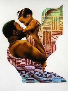 Art by Keith Mallett - Father and Child  www.keithmallett.com