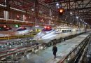 See Fleet Of Bullet Trains Travelling At 220mph In China (pics)