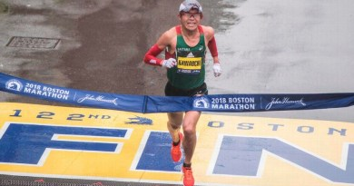 Japanese Kawauchi Ignites Memories As He Wins Men Boston Marathon (pic)