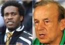 Nigerian Coach Rohr & J J Okocha In War of Words Over Nigerian's Loss