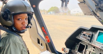 Sad!! Tolulope Arotile, First Airforce Female Combat Helicopter Pilot Dies, 8 Months After Recognition (pics)