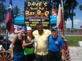 Charles Allen from American Idol enjoying Daves bbq