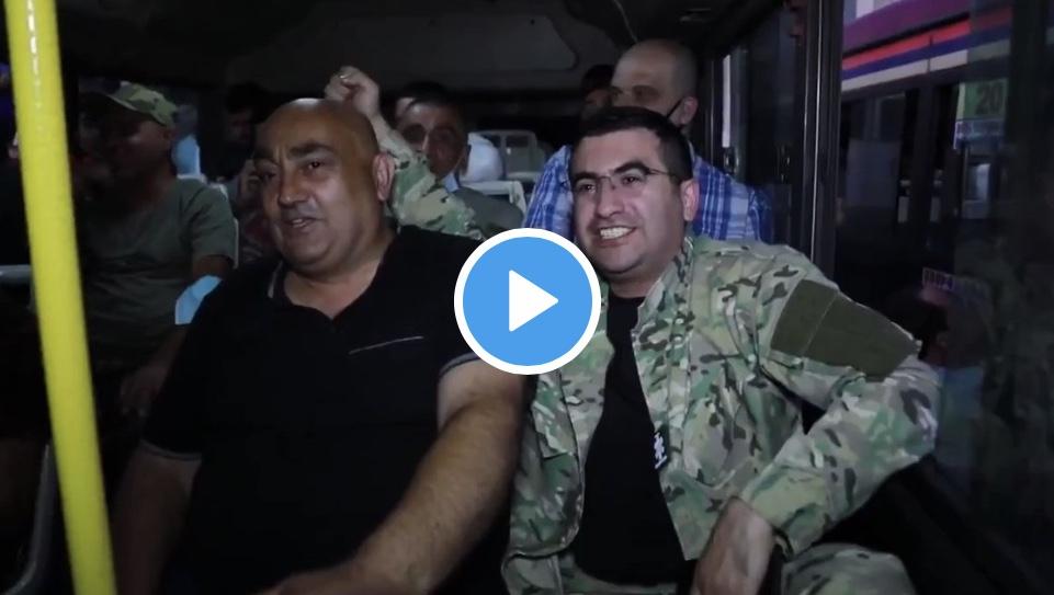 Αρμενία Επιστράτευση: Πάμε για τα παιδιά μας, για τα εγγόνια και την πατρίδα (Βίντεο)