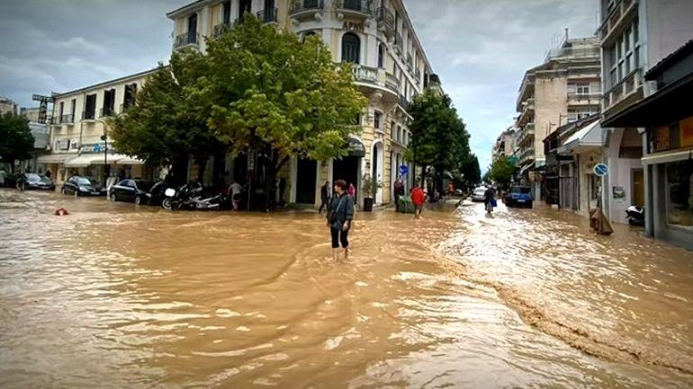 Καρδίτσα σήμερα: Δείτε το βίντεο της καταστροφής που κρύβουν τα κανάλια (Βίντεο)