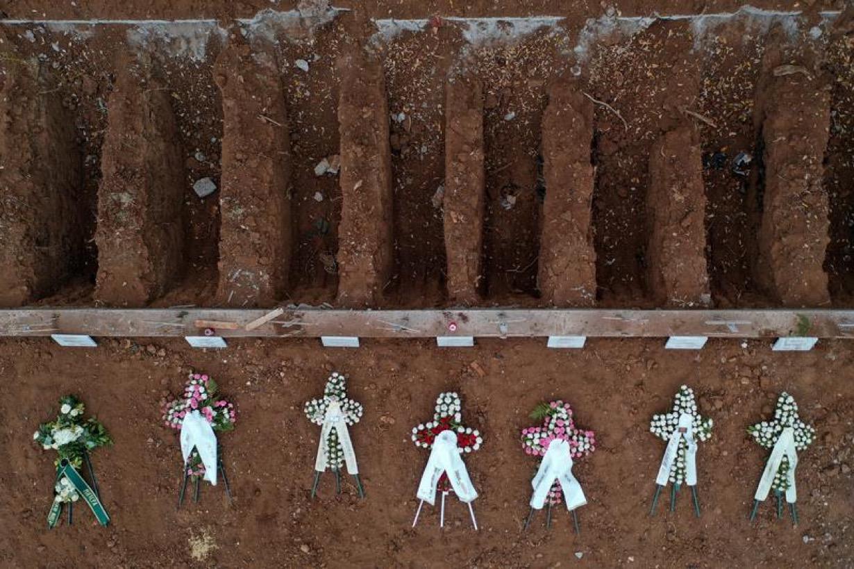 Άρθρο του Reuters για τους νεκρούς από Κορωνοϊο  στη Θσσαλονικη: In silence, Greek city buries coronavirus dead