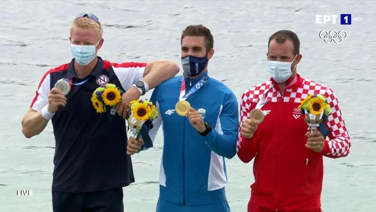Το πρώτο χρυσό μετάλλιο στους ολυμπιακούς για την Ελλάδα φέρνει ο Στέφανος !
