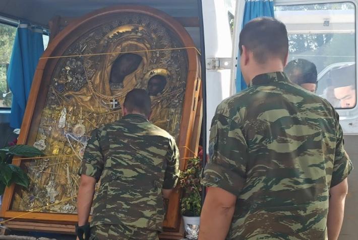 Η Εικόνα της Παναγίας Γοργοϋπηκόου στους καταδρομείς της Ρεντίνας