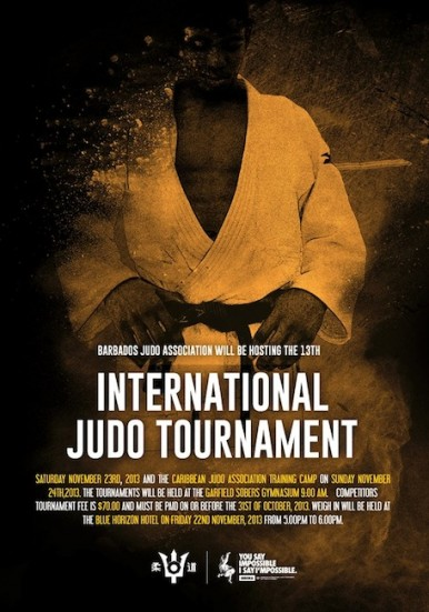 13th Int Judo Tournament Poster_Nov 2013