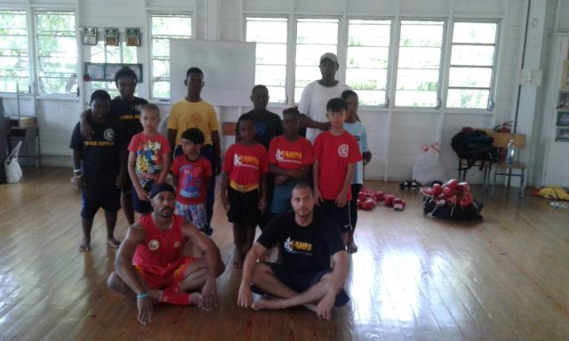 The Barbados Wushu Taichi Federation hosted two regional developmental coaches of the Bermuda Sanshou Association/ Pan American Wushu Federation in a three day training clinic that was held at UWI, Cave Hill Campus