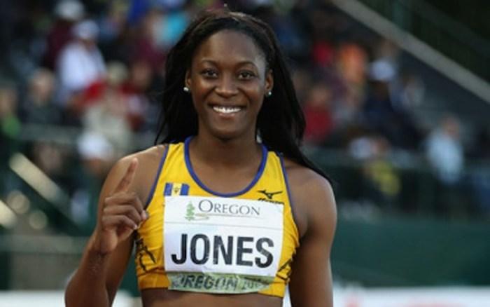 Akela Jones Barbados Rio 2016 team