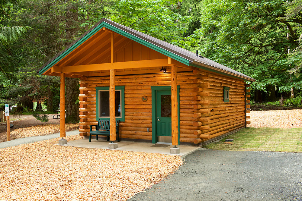 Log Pictures Cabins
