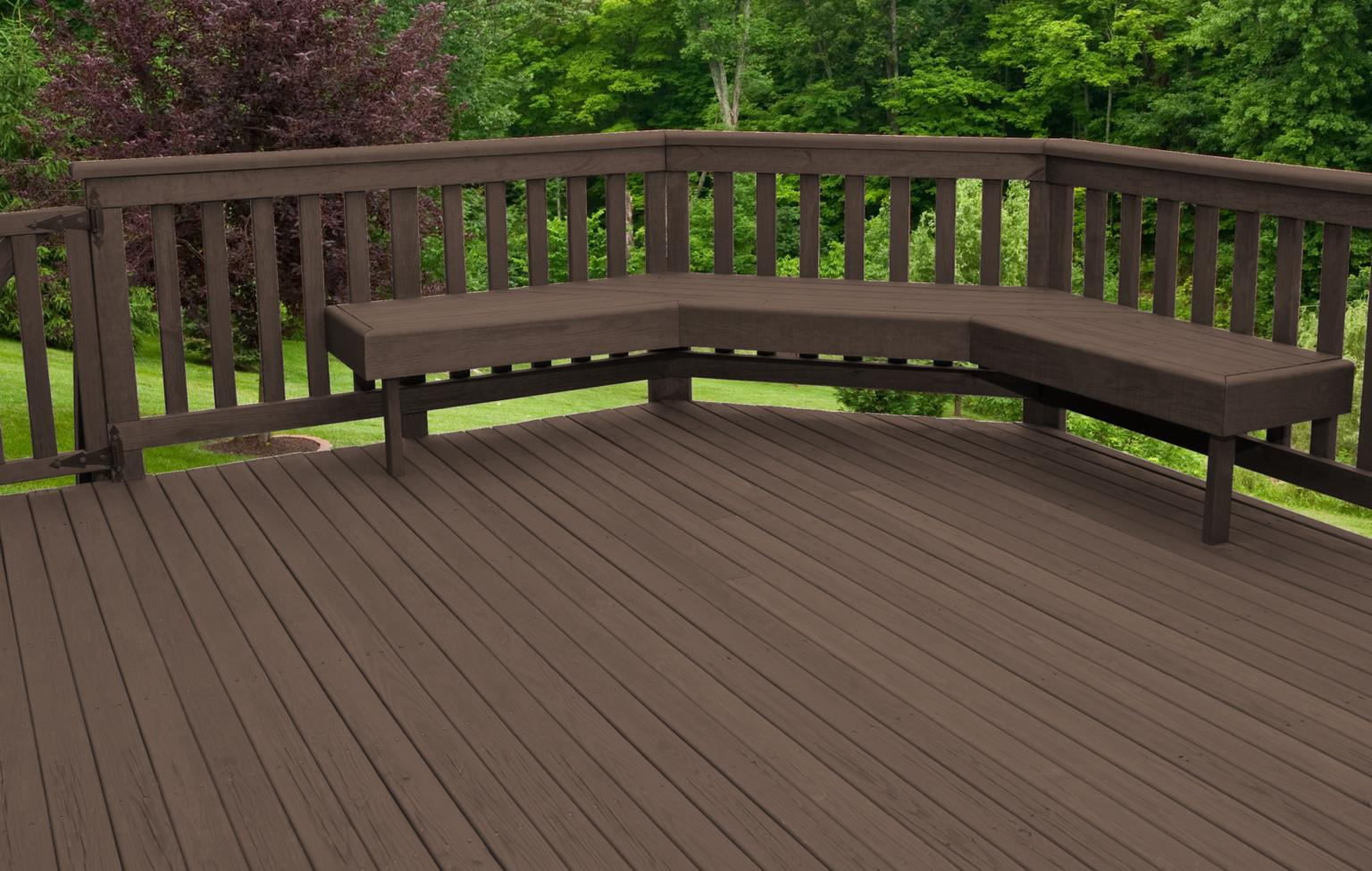 patio stain colours