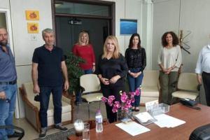 Μάνη | Επίσκεψη στις Διευθύνσεις Εκπαίδευσης Πιερίας