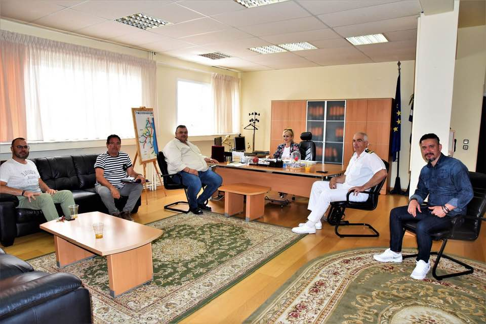 Συνάντηση Αντιπεριφερειάρχη Πιερίας με το νέο ΔΣ του Λιμενικού Ταμείου Πιερίας