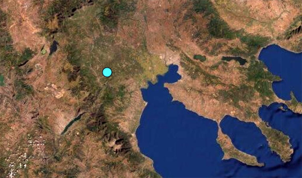 ΕΚΤΑΚΤΟ: Σεισμός αισθητός και στην Κατερίνη