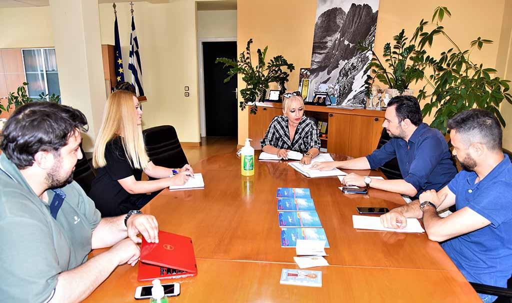 Τουρισμός | Συνάντηση εργασίας στην Π.Ε. Πιερίας