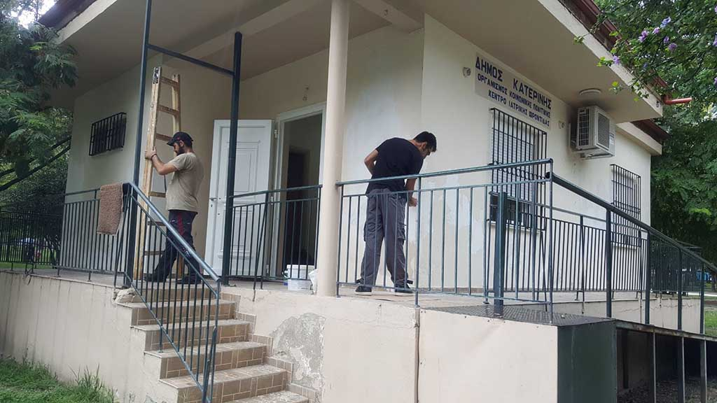 Δήμος Κατερίνης – ΟΠΠΑΠ | Ιατρείο για τα μέλη των ΚΑΠΗ στο δημοτικό πάρκο