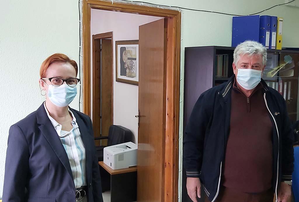 Σκούφα | Ενημερωτική επίσκεψη στο Κέντρο Εκπαιδευτικής και Συμβουλευτικής Υποστήριξης (ΚΕΣΥ) Πιερίας
