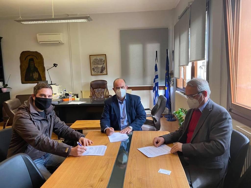 Δίου-Ολύμπου | Υπογράφηκε η σύμβαση για την αναβάθμιση του Διυλιστηρίου Λιτοχώρου