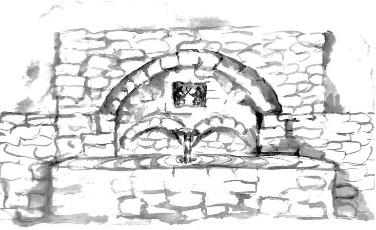 Η «Τρανή Βρύση» στην παλαιά Λεπτοκαρυά