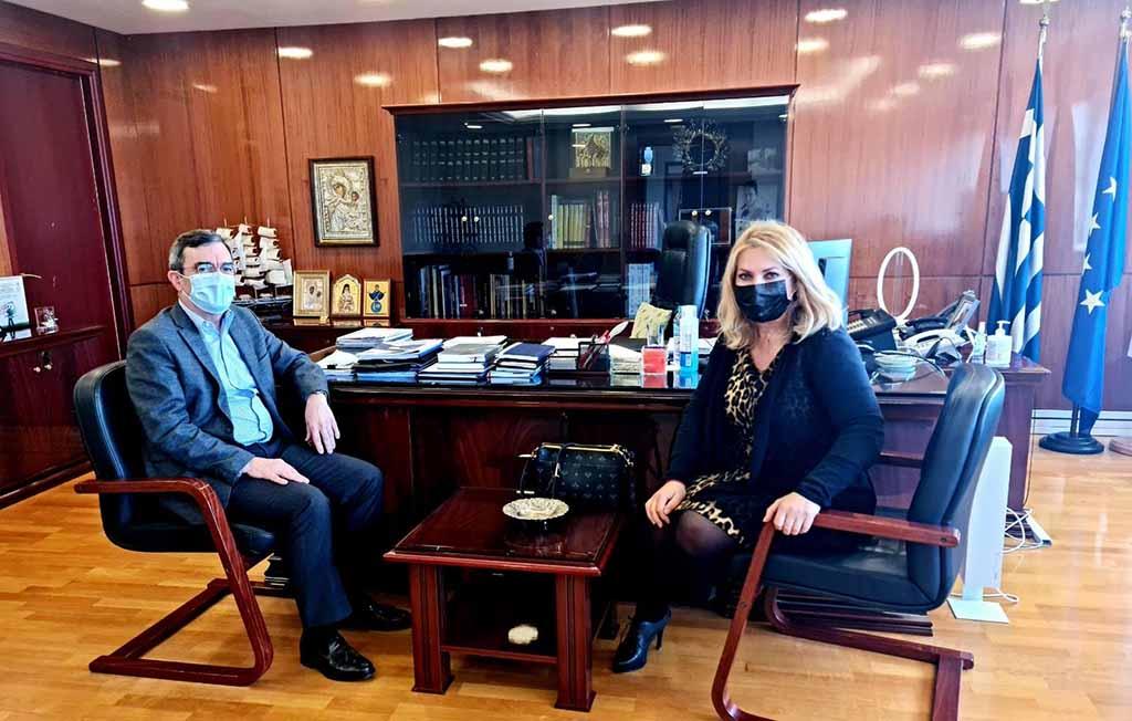 Μάνη | Συνάντηση με τον υφυπουργό Προστασίας του Πολίτη, κ. Λευτέρη Οικονόμου